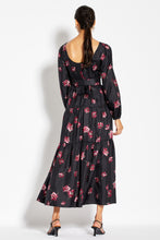 Tiered Maxi Dress - Mulberry Multi