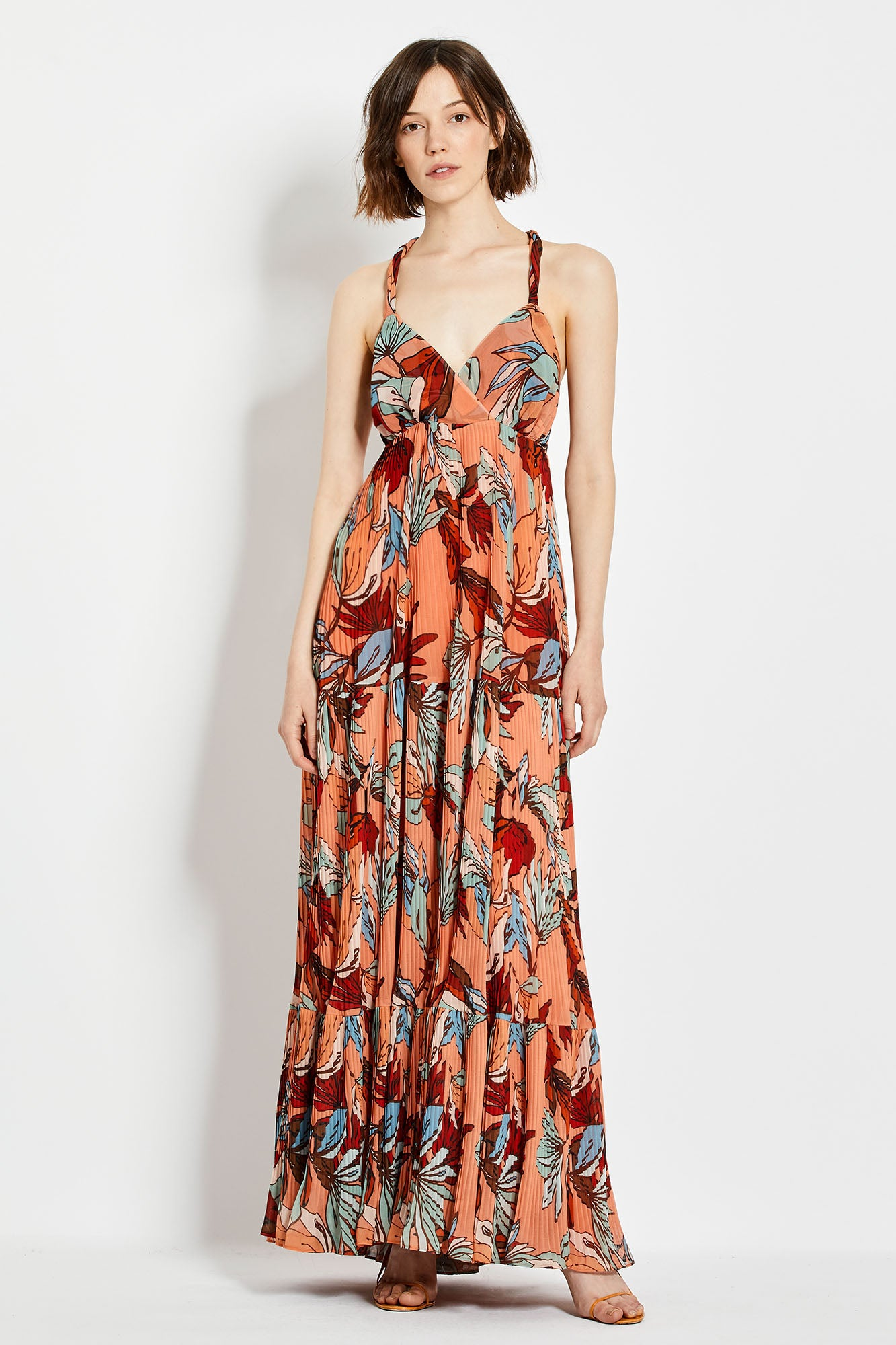 Ellie Dress - Tarama Deco Floral