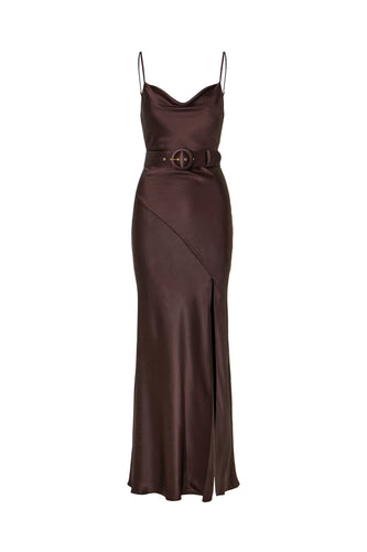 Simone Dress - Cocoa