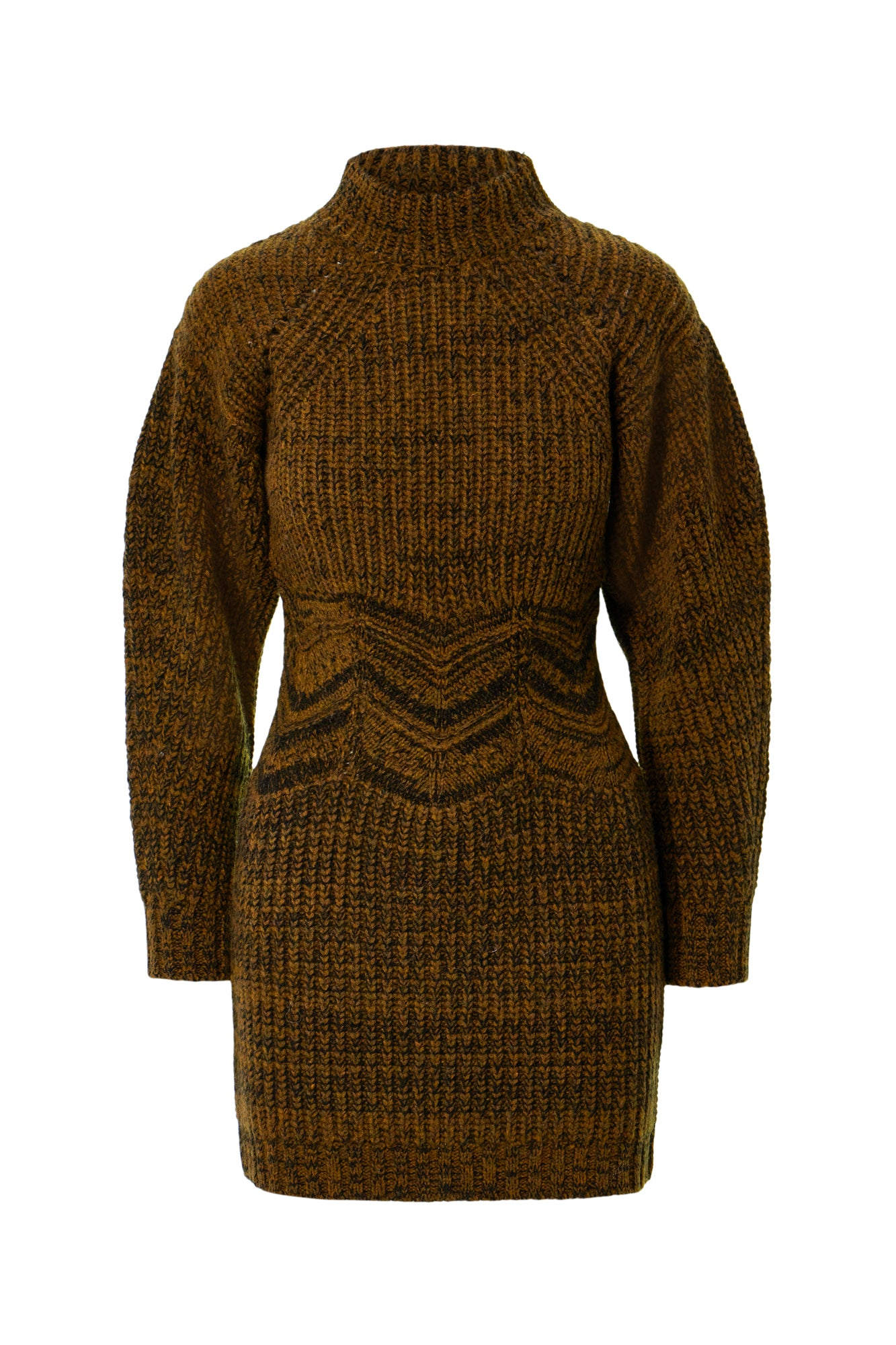 Ilya Dress - Brown Multi