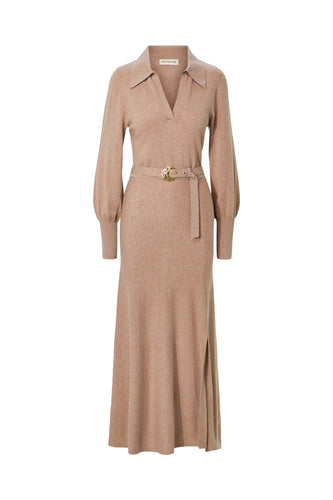 Katya Dress - Oatmeal