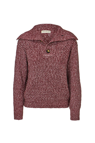 Elita Sweater - Magenta