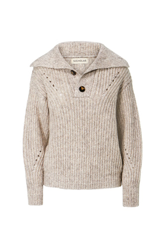 Elita Sweater - Oatmeal