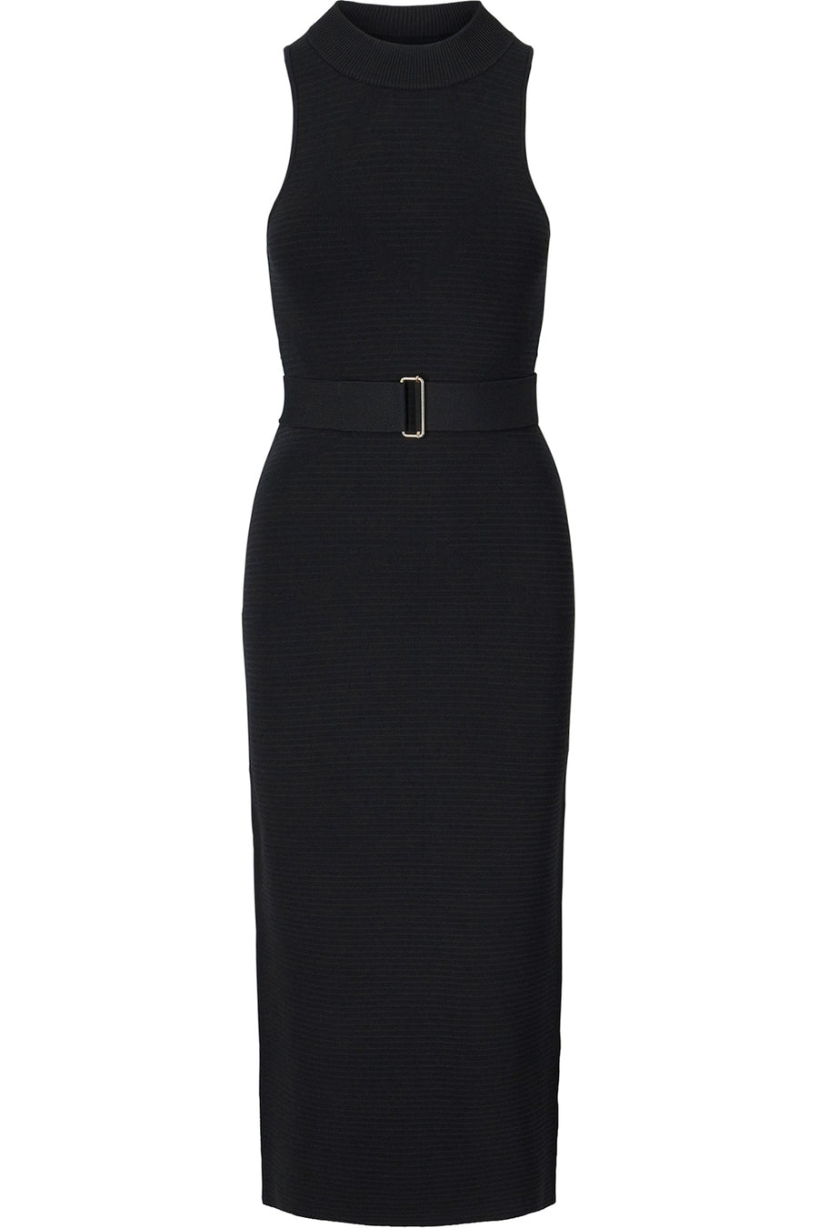 High Neck Dress - Black