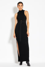 Smocked Maxi Dress - Black