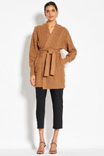 Cozy Grandpa Cardigan - Tobacco