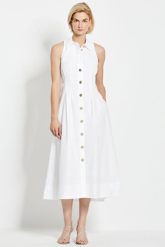 Melanie Dress - White