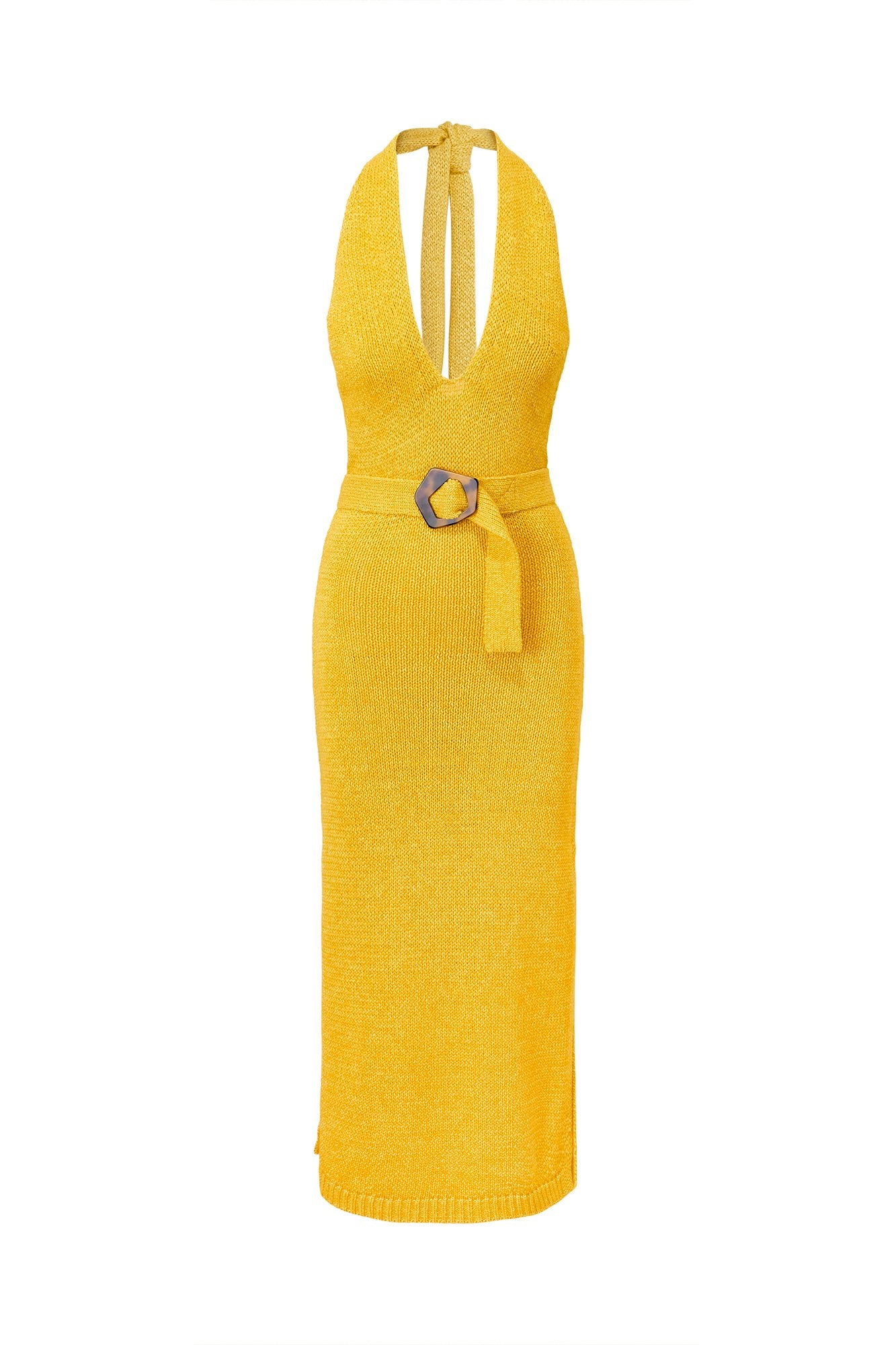 Harissa Dress - Sunflower