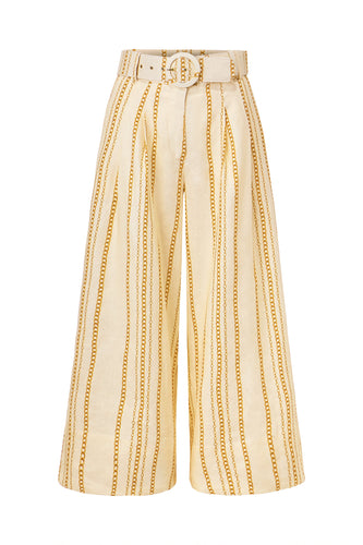 Ayda Pant - Vintage Chain - Ivory