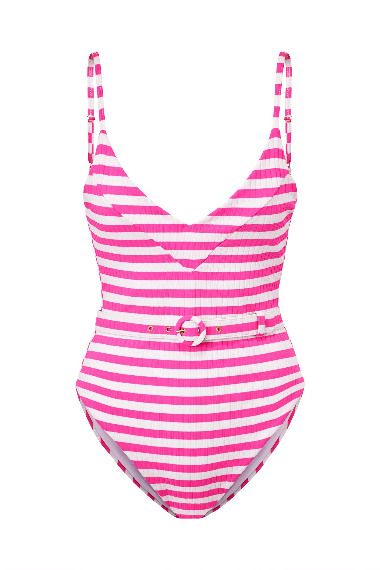 Myra One Piece - Pink Stripe