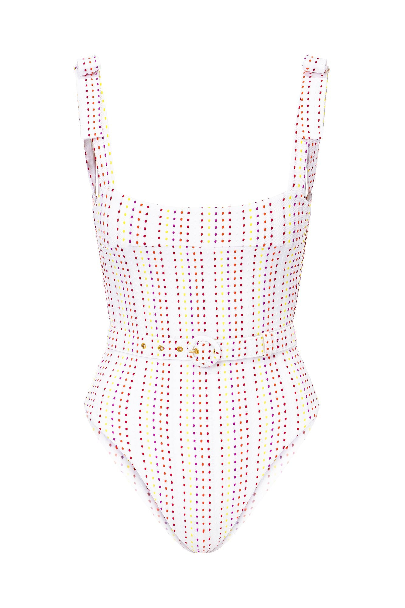 Bina One Piece - Multi Color Dot
