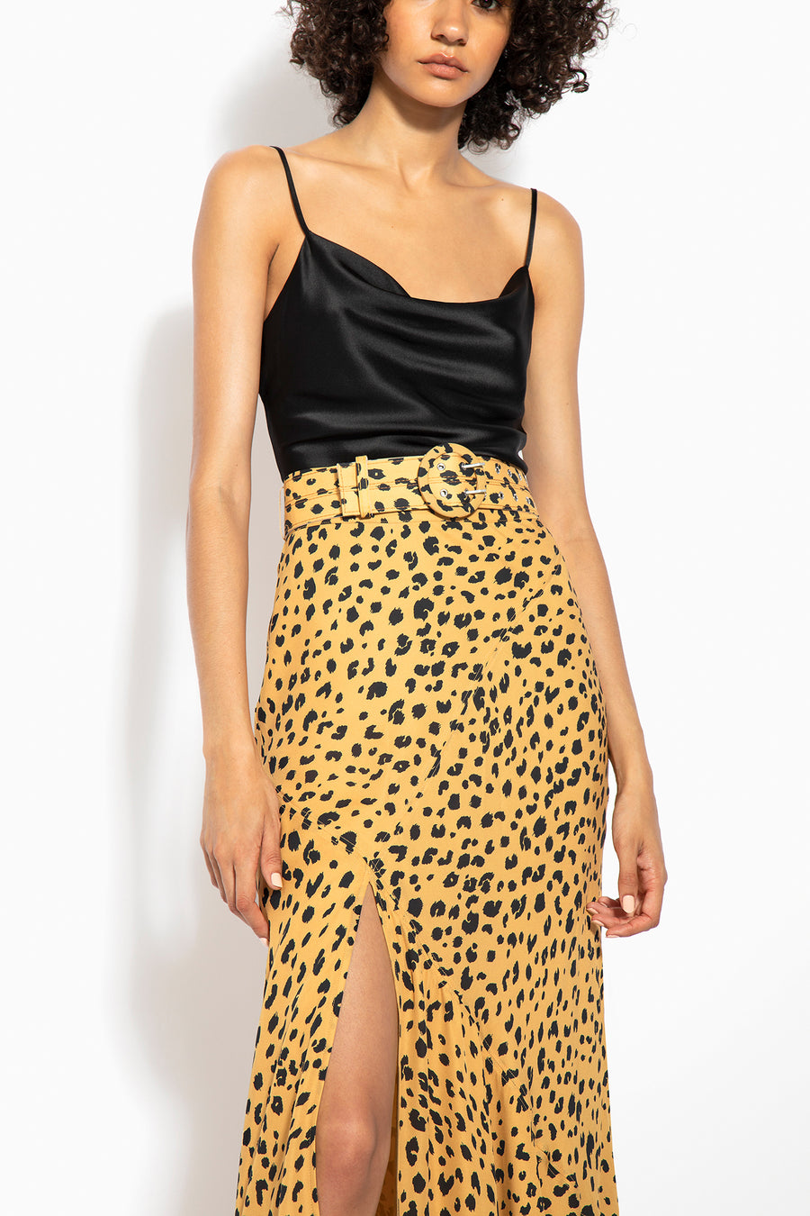 Asymmetrical Skirt - Amber Multi