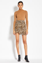 Tulip Mini Skirt - Leopard