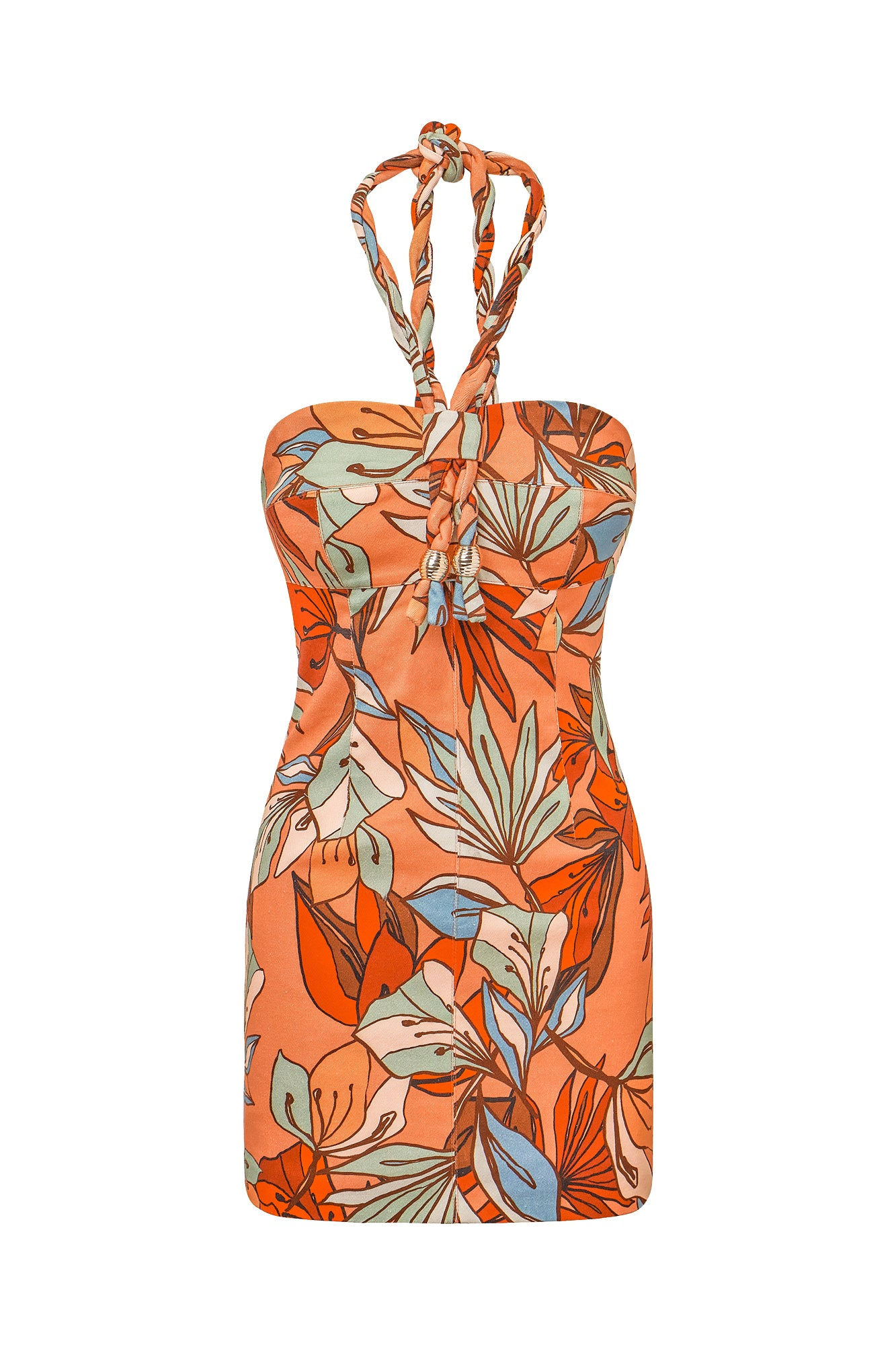 Tiffany Dress - Tarama Deco Floral