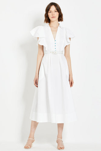 Sandra Dress - White