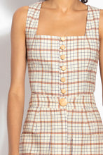 Button Front Top - Fawn Multi