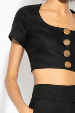 Scoop Top - Black