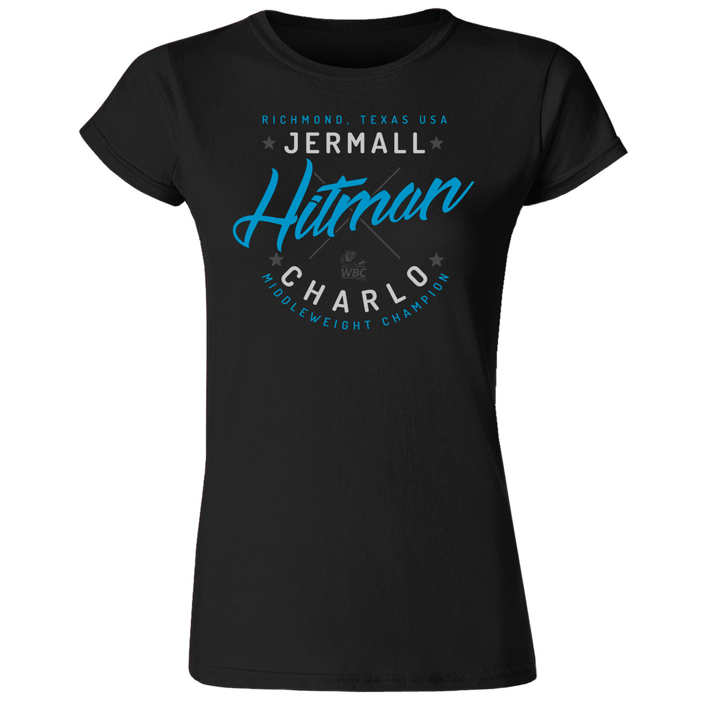 Jermall Charlo Hitman Women's T-Shirt Black