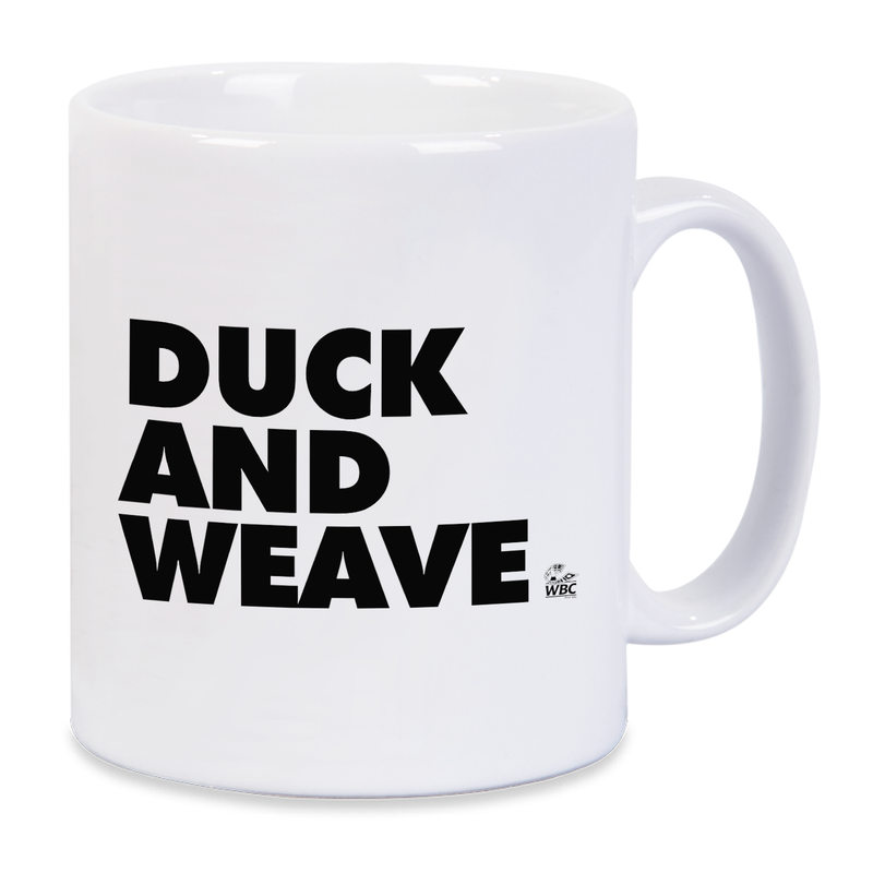 WBC Duck And Weave Mug - Yellow