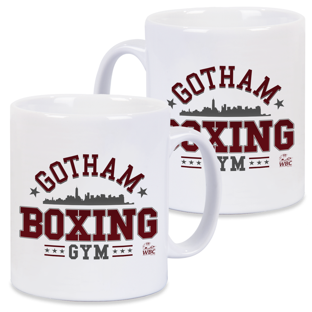 WBC Gotham Boxing Gym Mug -White