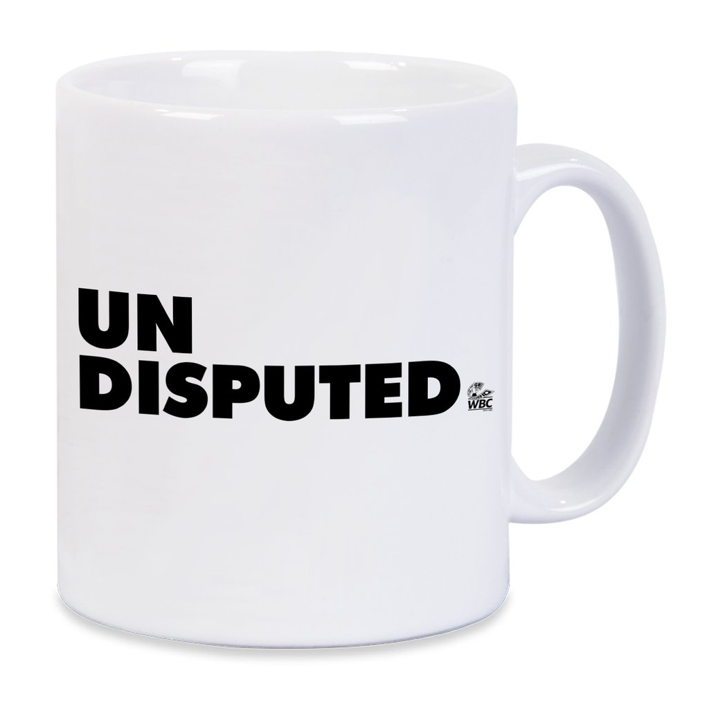 WBC Undisputed Mug- Royal