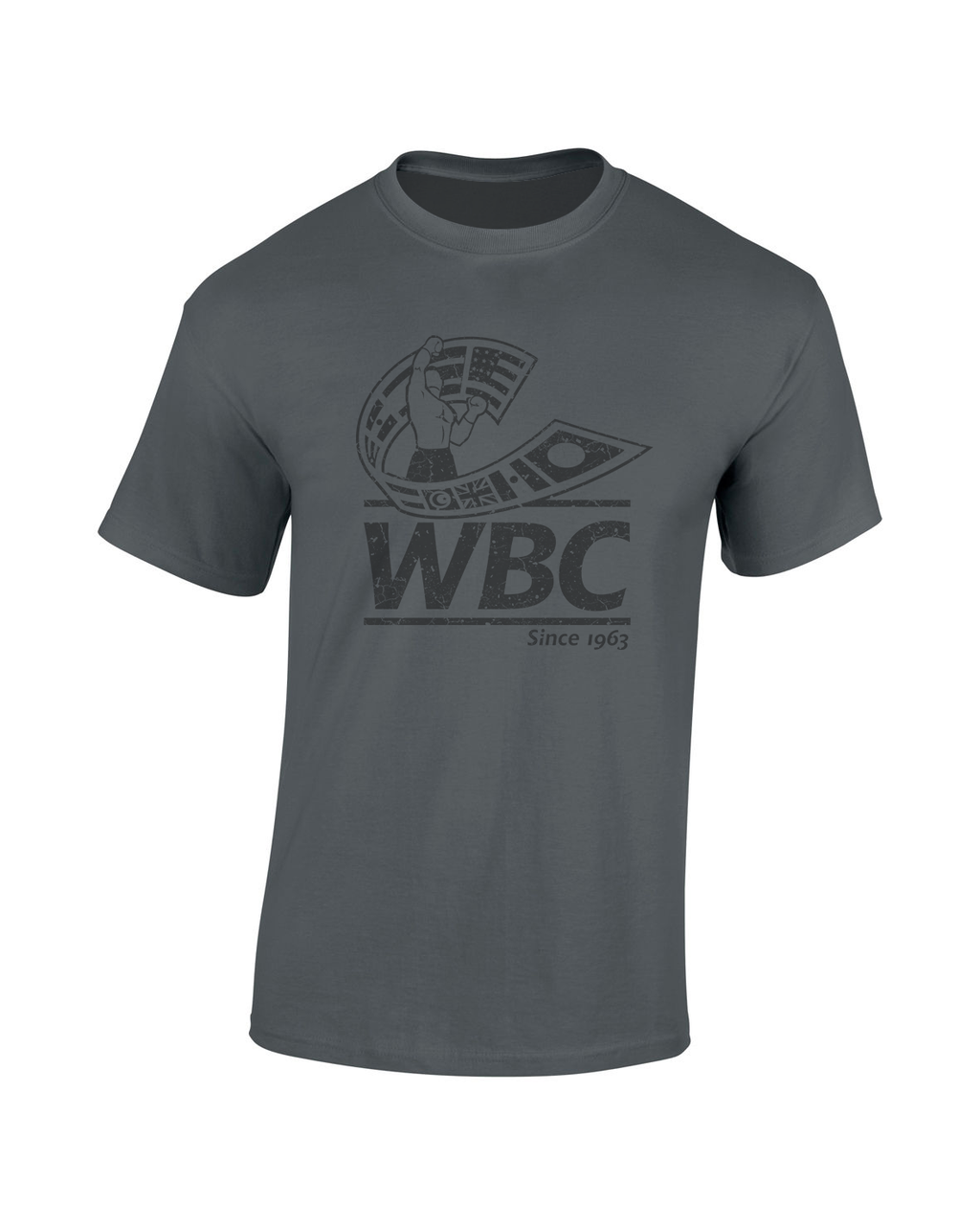 WBC Distressed Black
