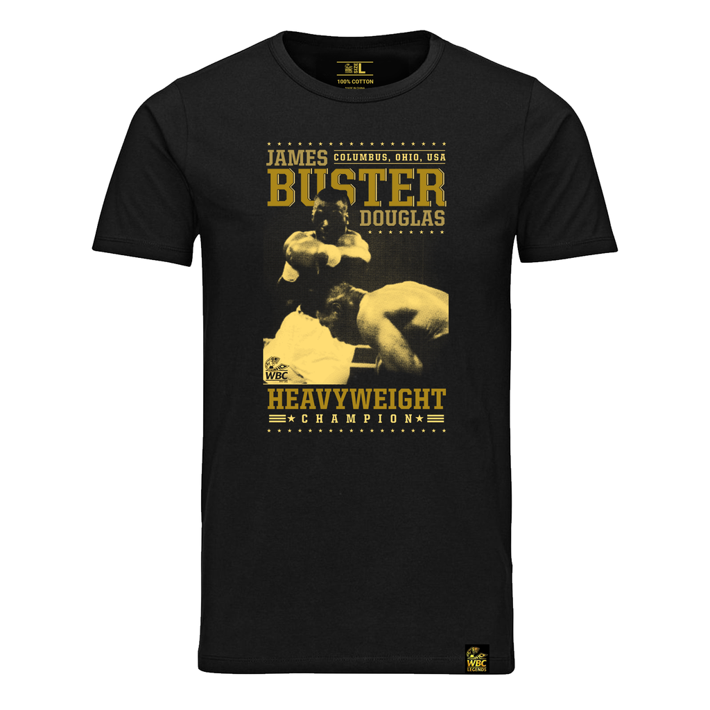 Buster Douglas Fight Image T-Shirt