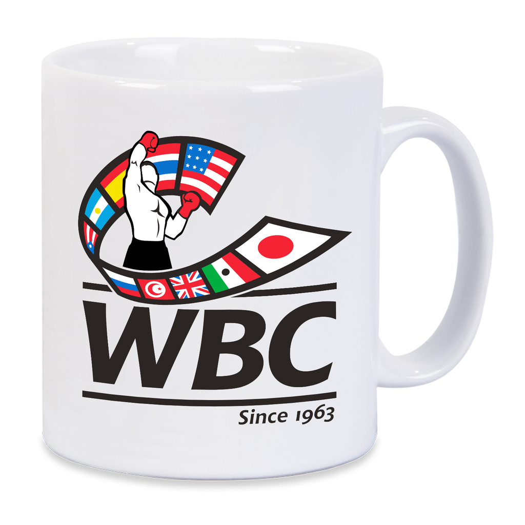 WBC Logo Colored Mug -White