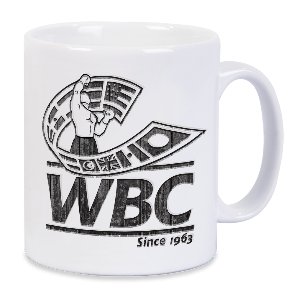 WBC Distressed Logo Mug -White