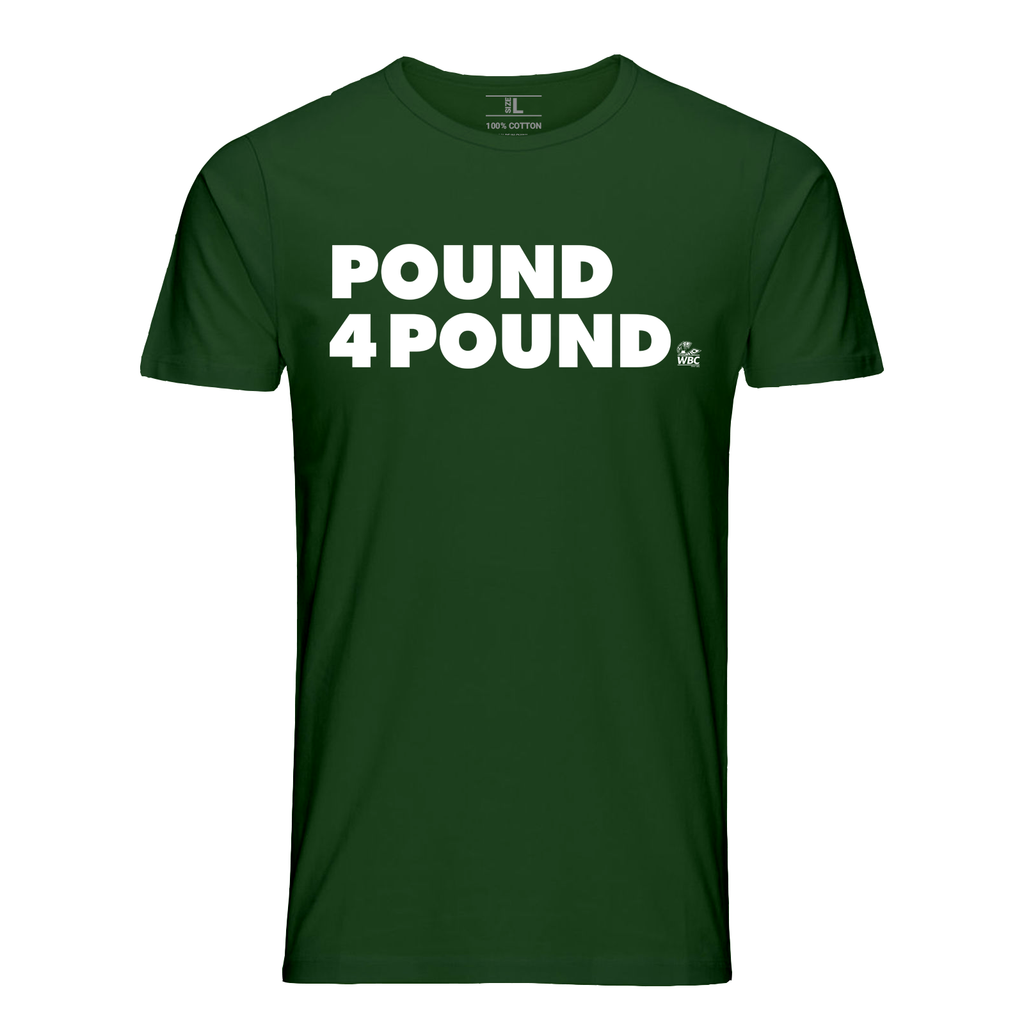 WBC Pound 4 Pound Quote Tee - Forest Green