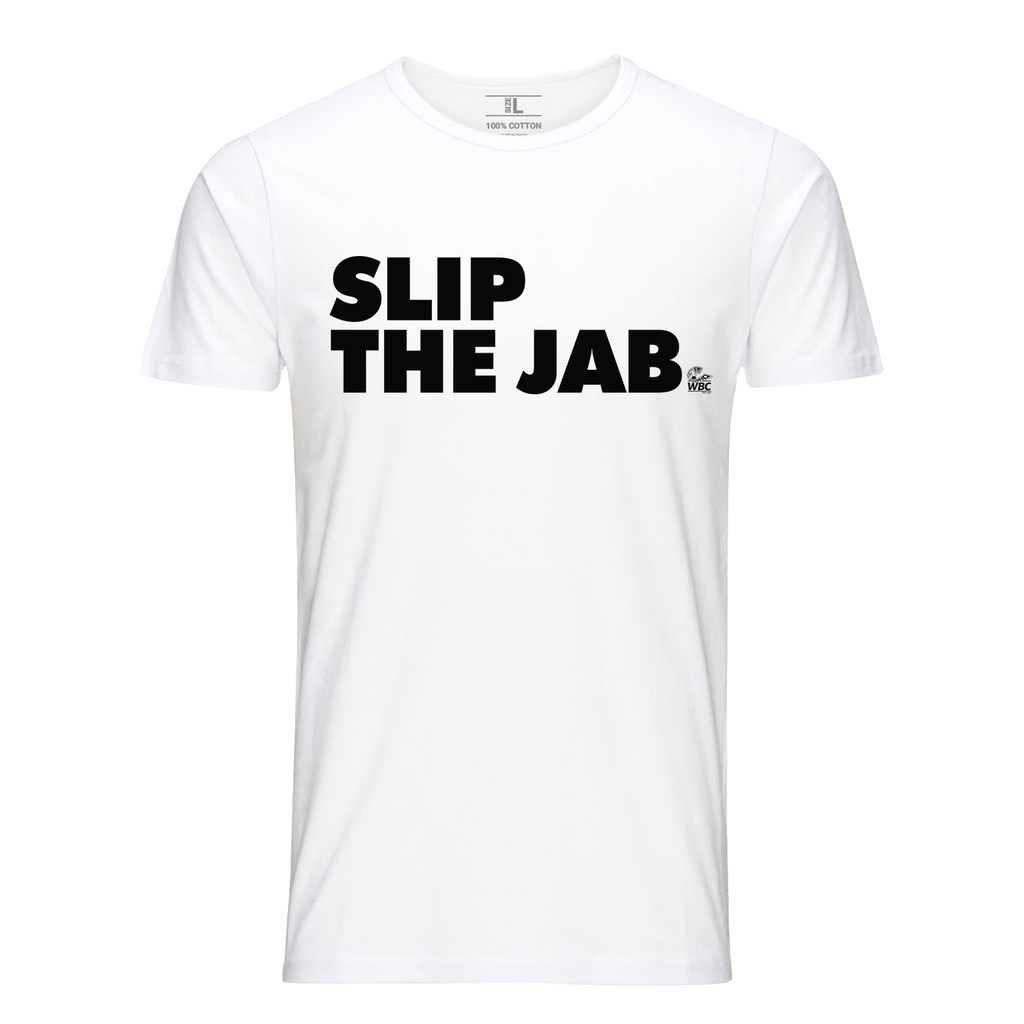 WBC Slip The Jab Quote Tee -White