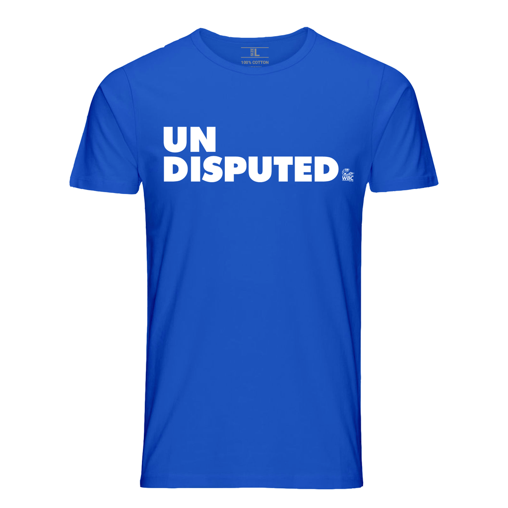WBC Undisputed Quote Tee- Royal