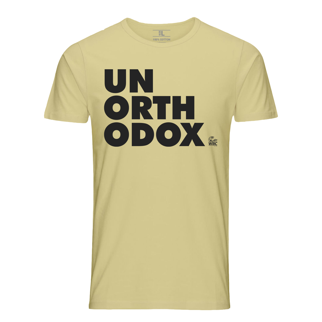 WBC Unorthodox Quote Tee- Tan