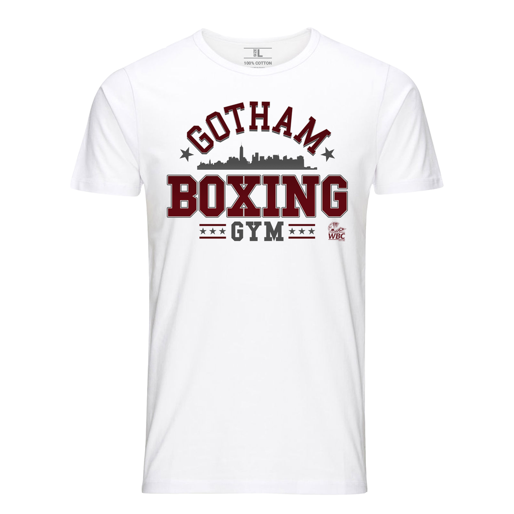 WBC Gotham Boxing Gym Graphic Tee - White