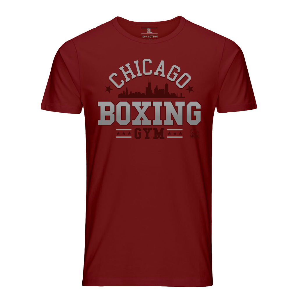 WBC Chicago Boxing Gym Graphic Tee - Red