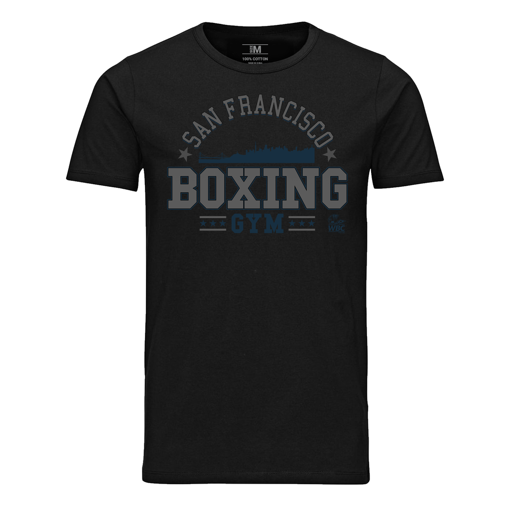 WBC San Francisco Boxing Gym Graphic Tee - Black