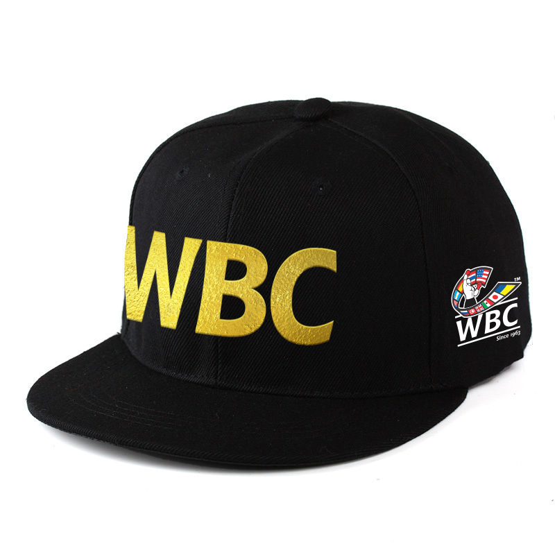 WBC Black Hat Full Color Side Logo