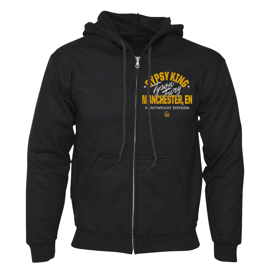 Tyson Fury Gypsy King Bee Zippered Hoodie
