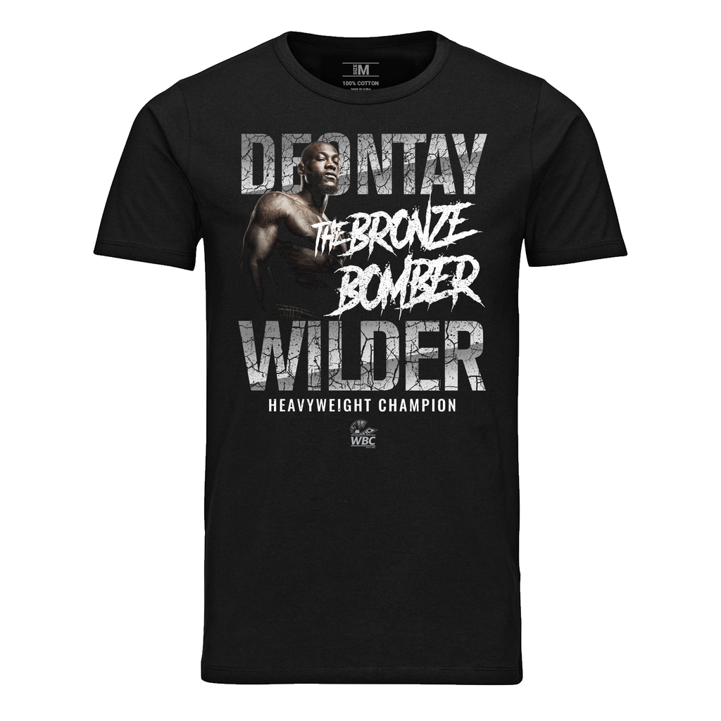 Deontay Wilder Fighter Image Black T-Shirt