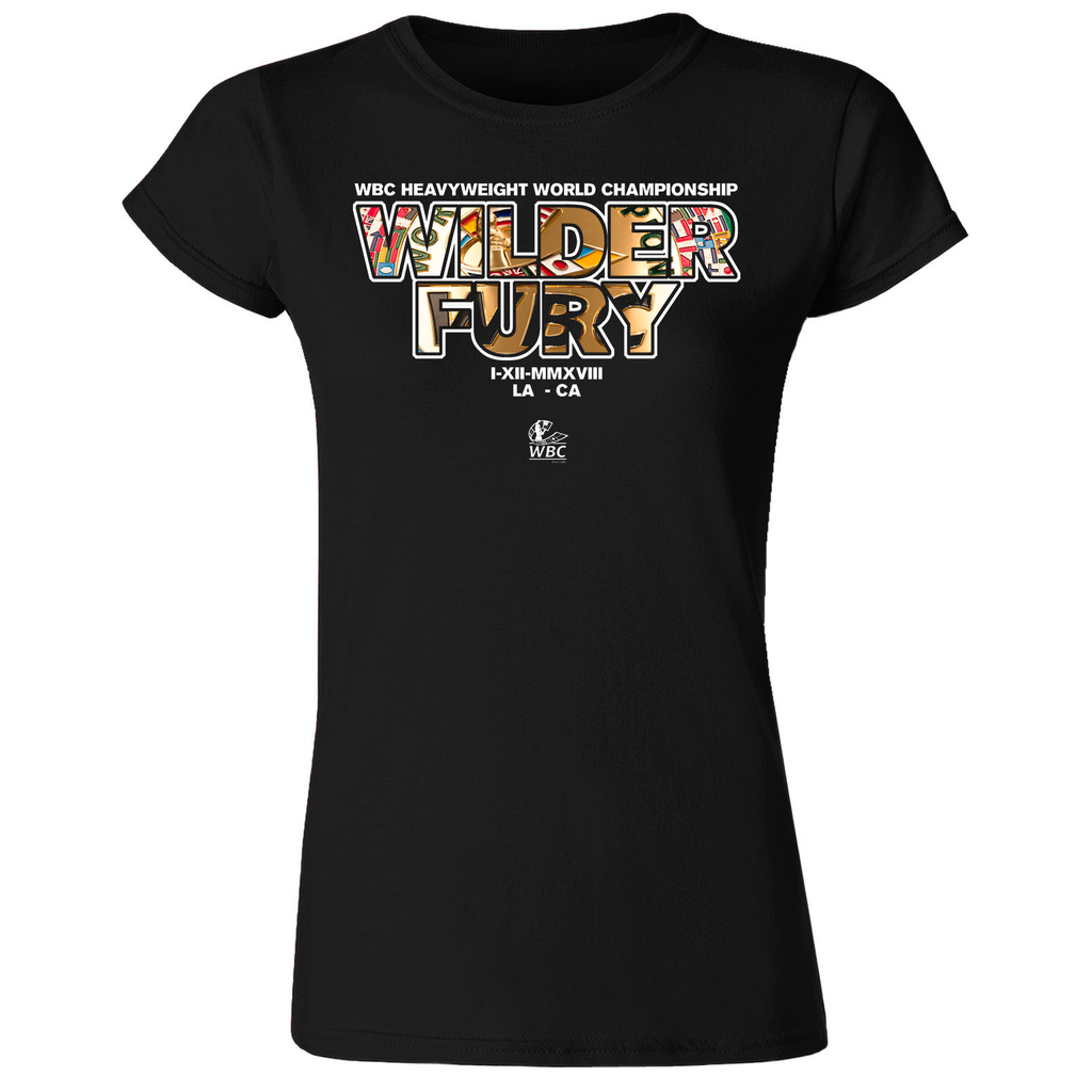 WILDER FURY WBC BELT WOMENS T-Shirt Event
