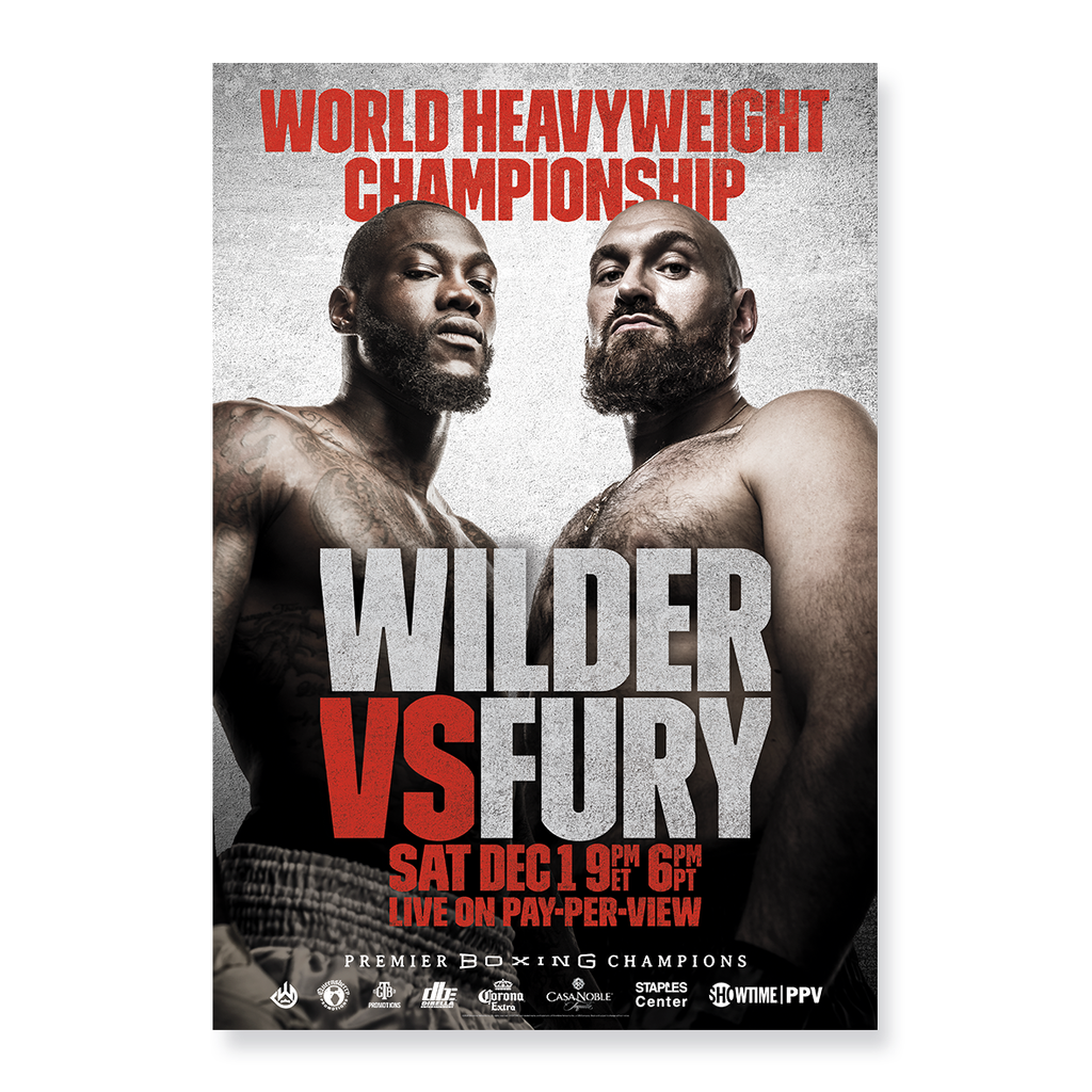 Wilder Fury Event Official Poster