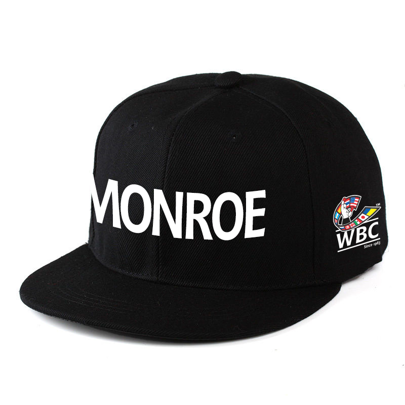 MONROE WBC HAT BLACK