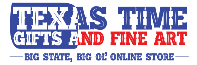 Texas Time Gifts and Fine Art logo