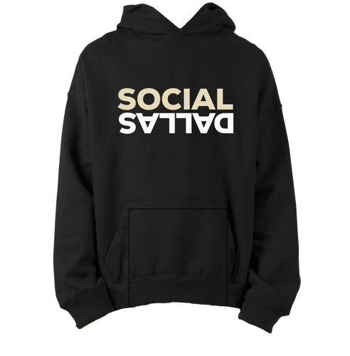 Social Dallas Upside Down - Champion Hoodie