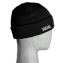 Load image into Gallery viewer, Social Fitted Beanie