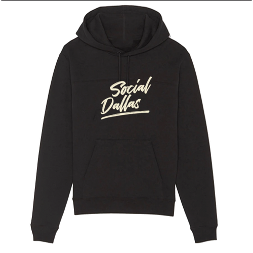 Social Dallas Brush Logo - Champion Hoodie