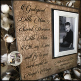 GodSpeed Little Man | Sympathy Gifts | Loss of a Son | Memorial Frame | Loss of Child | Infant Loss| Loss of Baby | Picture Frame - MemoryScapes Personalized and Customized Picture Frame