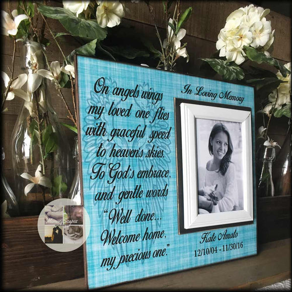 In Memory Picture Frame Celebration of Life Idea | MemoryScapes - Memory Scapes