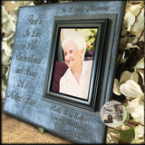 As a Mother's Love In Memory Picture Frame for Loss of Mom | MemoryScapes - MemoryScapes Personalized and Customized Picture Frame