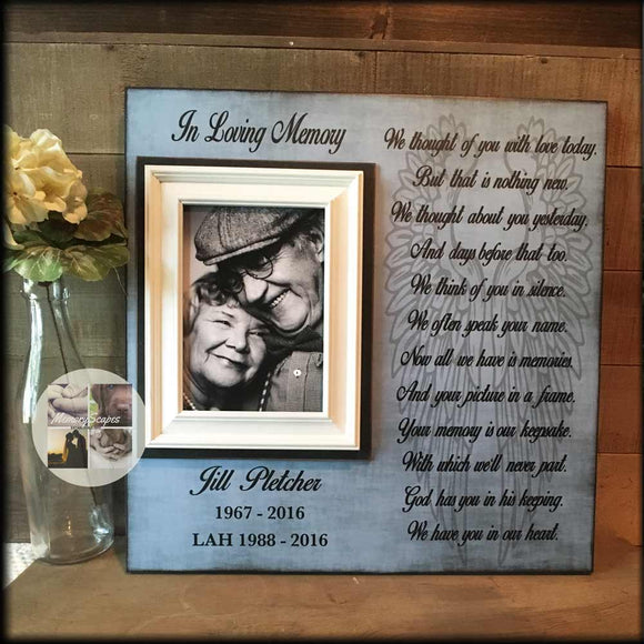 We Thought of You with Love Today Bereavement Gift | MemoryScapes - Memory Scapes